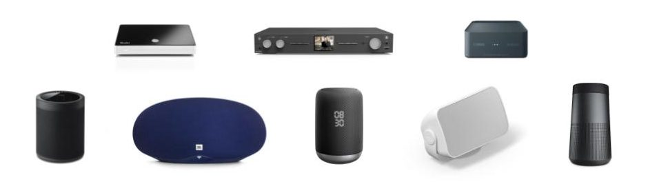 chromecast compatible speakers and adapters to stream music in business store cafe pub restaurant gym